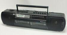 Retro 80s Panasonic RX-FT590 Boombox Ghetto Blaster Part Working Cassette Faulty