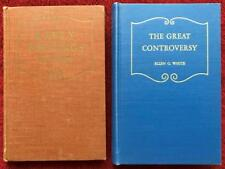 Ellen G White Duo: Early Writings ~ The Great Controversy HB Vintage SDA Books