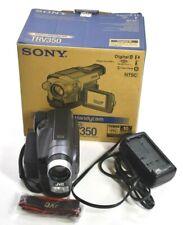 Sony Gr-Sxm320 Analog Vhs-C Camcorder 400x Zoom Hi8 8mm Camera Recorder Fpo