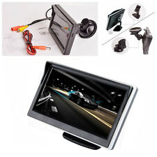 5 Inch Car Monitor TFT LCD HD Digital Screen For Reverse Rearview Camera DVD VCD