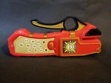 Power Rangers Mystic Force Solar Cell Morpher Used Rare Red Working Clean