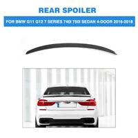FRP Rear Trunk Spoiler Wing For BMW G11 G12 7 Series 740i 750i Sedan 4Door 16-18