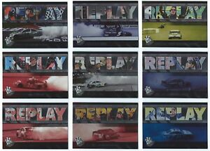 2014 Press Pass Racing NASCAR Replay Insert You Pick the Card Finish Your Set