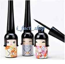2X Cute Gift Doll Eyeliner Black Waterproof Liquid Eye Liner Pen Pencil Make Up#