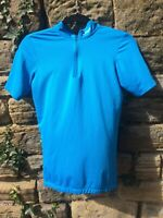 Btwin Womens/Female Cycling Top/Jersey: Blue/Turquoise: Small: Decathalon