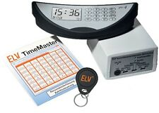 Zeiterfassung ELV TimeMaster  (Optional USB/LAN)