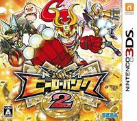 Nintendo 3DS Hero Bank 2 Sega Games JAPAN IMPORT