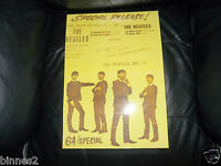 "THE BEATLES FULLY LAMINATED ""SPECIAL RELEASE"" THE BEATLES No.1 E.P.OSTER 1963"