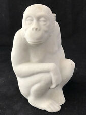 Chimpanzé Pierre Marbell Stone Art Belgium Singe Chimpazee Monkey