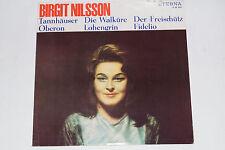 Birgit Nilsson singt aus deutsche Opern -Tannhäuser Oberon...- LP PHONOCLUB