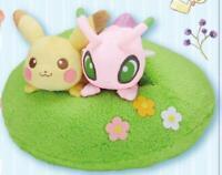 Pokemon Ichiban Kuji Last One Prize Pikachu & Celebi Plush Toy Japan F/S New