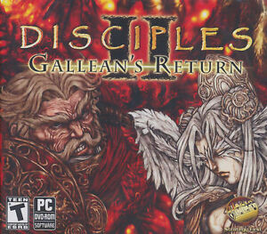 Disciples II GALLEAN'S RETURN 2 Strategy RPG PC Game NEW!