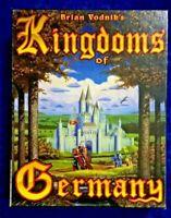 """RARE Brian Vodnik's Kingdoms of Germany PC Game 3.5"""" Disk 1993"""