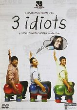 3 Idiots DVD - Aamir Khan, Kareena Kapoor - Bollywood Movie DVD / Region Free /