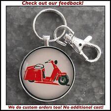 Vintage Cushman Scooter Illustration Photo Keychain Great Gift 🎁🛵🛵🛵🛵🛵🛵