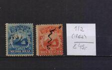 ! Costa Rica 1862.   Stamp. YT#1,2. €45.00!