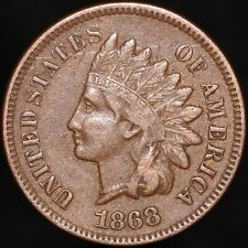 More details for 1868 | u.s.a. indian head one cent | bronze | coins | km coins