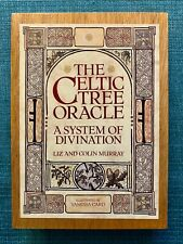Celtic Tree Oracle Boxed Set With Book And Cards Excellent 1988 1st U.S. Edition