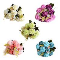 31cm Seidenblumen Hortensien Kunst Blumenstrauß Floristik Deko Hochzeit ape
