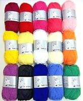 Woolyhippo DK Yarn 100% Acrylic Double Knitting Baby 25g Toy Craft Wool