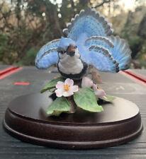 Lenox 'Blue Jay' porcelain figurine (Garden Bird Collection)
