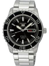 SEIKO SNZH55K1,Men's Sport,Automatic,Stainless steel,Rotating Bezel,date,100m WR
