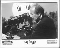 ~ Director Nicolas Roeg 1992 Original Promo Photo Panavision Movie Camera