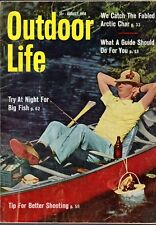 1958 Outdoor Life - August - So you want a guide; Fish at night; Walleye; Dory