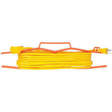Electric Extension Cord Wrap Orange Plastic Electrical Wire Storage