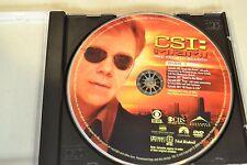 CSI Miami Fourth Season 4 Disc 1 Replacement DVD Disc Only *
