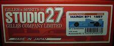 STUDIO27 1/20 march 871 San Marino GP Multimedia Kit