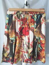 Gorgeous • Stussy• Colourful Mini Skirt Sz 6 NWOT