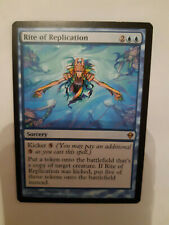 MTG. RITE OF REPLICATION (2). ZENDIKAR. RARE. MINT/NM. MAGIC