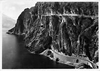 Cartolina  Lago di Garda Strada Ponale 1951