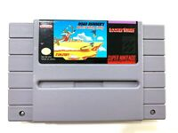 Road Runner's Death Valley Rally SUPER NINTENDO SNES Game Tested Working