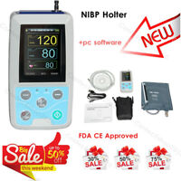 CONTEC ABPM50 NIBP Holter 24H Ambulatory Blood Pressure Monitor, PC SW