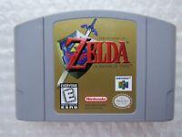 Legend of Zelda Ocarina of Time Nintendo 64 N64 OEM Authentic Video Game GREAT