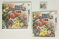 Super Smash Bros. Nintendo 3DS 2014 Video Game CIB MINT CONDITION COMPLETE