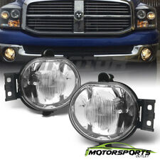 2002-2008 Dodge Ram 1500 2500 3500 /2004-2006 Dodge Durango Fog Lights Pair+Bulb