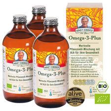 Omega 3 plus Bio Öl nach Udo Erasmus 3er Set - 3 x 500ml (gesamt 1500 ml)