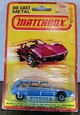 CITROEN CX ~ NEW ON WORN USA CARD ~ MATCHBOX SUPERFAST MB12 ~ Made in ENGLAND