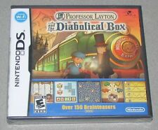 Professor Layton and the Diabolical Box Nintendo DS Brand New! Factory Sealed!