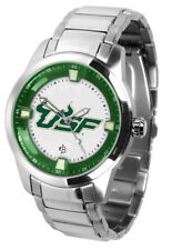 University of South Florida Mens TITAN Steel Watch Titanm-sfb