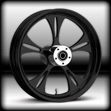 21 x 3.25  HARLEY DAVIDSON ROAD GLIDE GLOSS BLACK REAPER WHEEL