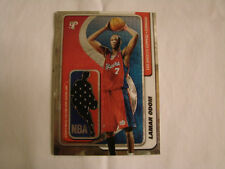 2001-02 Topps Pristine Lamar Odom Shooting Shirt Card Box Topper Clippers