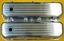 BBC Chevy Ball Milled Aluminum Tall Valve Covers Aluminum 454 502 396