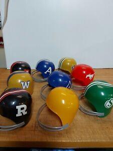Vintage Rare 1976 Dairy Queen CFL Football Sundae Helmet Set