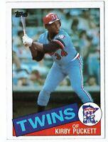 1985 Topps #536 Kirby Puckett RC Minnesota Twins