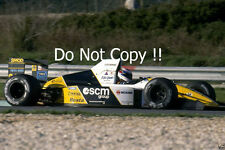 Gianni MORBIDELLI MINARDI M190 Grand Prix du Japon 1990 photographie