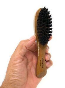Phillips Brush Beard Brush Short Hair Brush Pure Bristle Wood Handle Brush